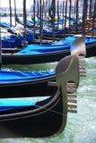 Venedig-Gondeln Stockfotografie