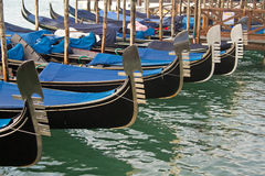 Venedig gondol Royaltyfri Fotografi