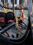 Venedig gondol royaltyfri bild