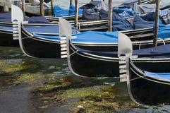Venedig gondol Arkivbild