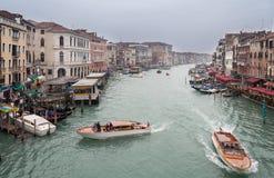 Venedig Grand Canal Royaltyfri Bild