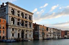 Venedig, großartiger Kanal Lizenzfreie Stockfotografie