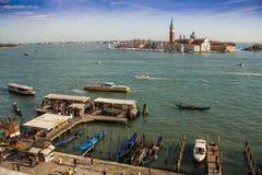 Venedig hamn Royaltyfri Bild