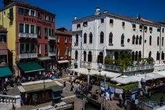Venedig-Hauptstraße Stockfotografie