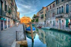 Venedig HDR Italien Royaltyfri Bild