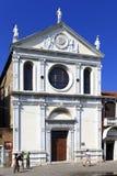 Venedig historiskt centrum, Veneto rigion, Italien - Santa Maria Royaltyfri Bild