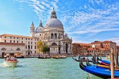 Venedig - honnör för BasilicadiSanta Maria della Fotografering för Bildbyråer