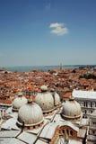Venedig horisont Arkivbilder