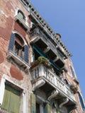 Venedig hus Royaltyfri Foto