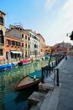 Venedig i Italien Fotografering för Bildbyråer