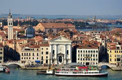 Venedig i Italien Royaltyfri Bild