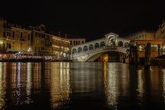 Venedig i Italien, arkitekturen av staden arkivfoto