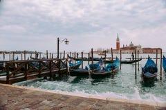 Venedig i Januari royaltyfria bilder