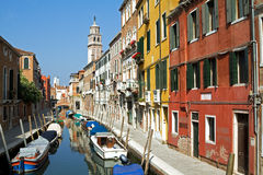 Venedig i sommar. Royaltyfria Bilder