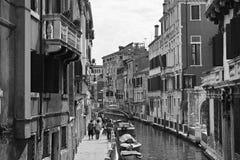 Venedig im Monochrom Lizenzfreie Stockfotos