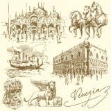 Venedig - Italien lizenzfreie abbildung