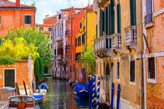 Venedig. Italien. arkivfoto