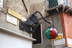 In Venedig Italien Lizenzfreie Stockfotos