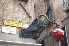 In Venedig Italien Lizenzfreie Stockbilder