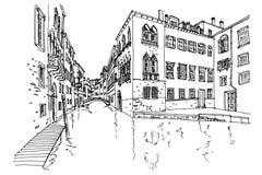 Venedig, Italien vektor abbildung
