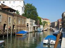 20 06 2017, Venedig, Italien: Ansicht von historischen Gebäuden und von Kanälen Stockbilder