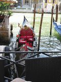 20 06 2017, Venedig, Italien: Ansicht von historischen Gebäuden und von Kanälen Stockfotografie