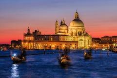 Venedig, Italien Basilikadi Santa Maria lizenzfreie stockfotografie