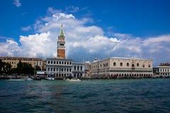 Venedig Italien, Doge& x27; s-slott Fotografering för Bildbyråer