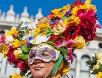 Venedig, Italien, am 6. Februar 2016: Karnevalsmaske in Venedig Der Karneval von Venedig ist ein jährliches Festival, das in Vene lizenzfreies stockbild