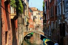 Venedig Italien gata Royaltyfri Foto