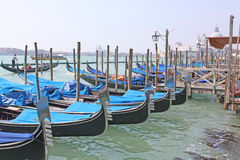 Venedig, Italien gondeln Stockfotografie