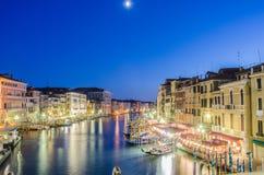 VENEDIG ITALIEN Arkivfoto