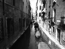 Venedig Italien lopp Arkivbilder