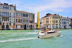 VENEDIG, ITALIEN - MAI 2017: James Lee-byars 20 Meter-hoch Lizenzfreie Stockfotografie