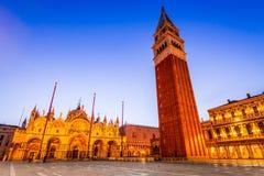 Venedig, Italien - Marktplatz San Marco stockbilder