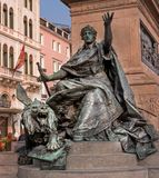 Venedig Italien - Oktober 13, 2017: Monument till Victor Emmanuel II - Monumento Nazionale Vittorio Emanuele II Royaltyfri Foto