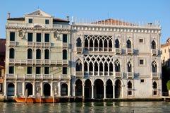 Venedig Italien: Palazzo Ca d'Oro Royaltyfri Fotografi