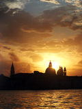 Venedig Italien - soluppgång Royaltyfri Fotografi