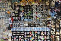 Venedig Italien souvenirställning Royaltyfri Foto