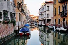 Venedig, Italien - szenische Ansicht des venetianischen Kanals Stockfotografie