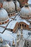 Venedig Italien tak arkivbild