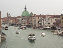 Venedig Italien vid dag royaltyfri fotografi