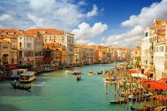 Venedig italy arkivfoton