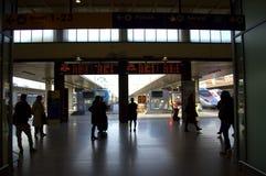 Venedig järnvägsstation Arkivbild