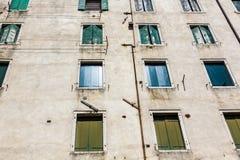 Venedig - judiskt område Arkivbilder