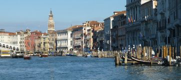 Venedig-Kanäle Lizenzfreie Stockfotos
