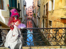 Venedig-Kanal Stockfotografie