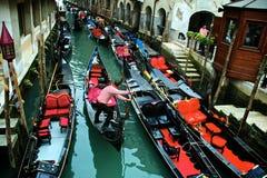Venedig-Kanal Stockbild