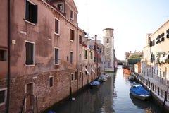 Venedig-Kanal Stockfoto