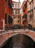 Venedig-Kanal Stockbilder